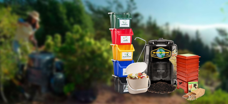Productos para compostar y vermicompostar, soluciones para una vida más sustentables.